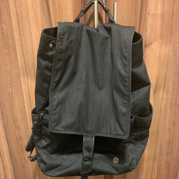 Black Lululemon Women's Backpack